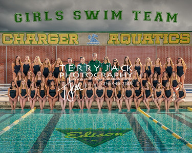 Edison Girls Swim Team