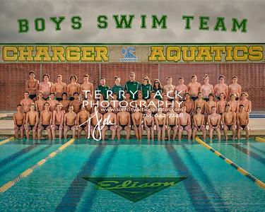 Edison Boys Swim Team 2019
