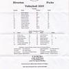 Riverton Parke Volleyball 2019 Panthers