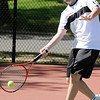 04/29/2010...Glen Rock second doubles Dan Forstot with Mike Krasnoff defeated Matt Smith and Mike Mayer of Waldwick, 6-0, 6-0.<br /> PHOTO: KELLY BIRDSEYE