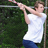 05/04/2010...Indian Hills' first doubles Nate LaBarba.<br /> PHOTO: KELLY BIRDSEYE