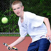 05/04/2010...Indian Hills' first doubles Kevin Cheetham.<br /> PHOTO: KELLY BIRDSEYE