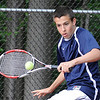 05/04/2010...Indian Hills' second doubles Craig Stanson.<br /> PHOTO: KELLY BIRDSEYE