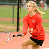 10/02/2009...Glen Rock co-captain and third singles, Brittany Kitchen.<br /> PHOTO: KELLY BIRDSEYE