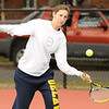 10/02/2009...Glen Rock second singles Jen Berland<br /> PHOTO: KELLY BIRDSEYE