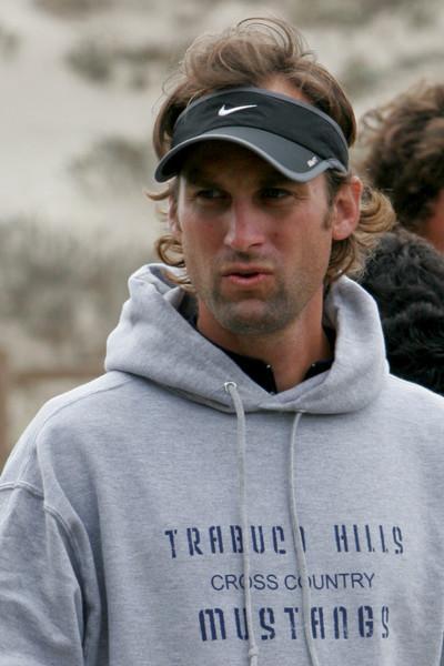 Coach Liam Clemons, Boys Cross County Coach.