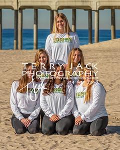 Edison Water Polo Team-40cr