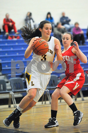 Lexington girls' basketball v. Wakefield