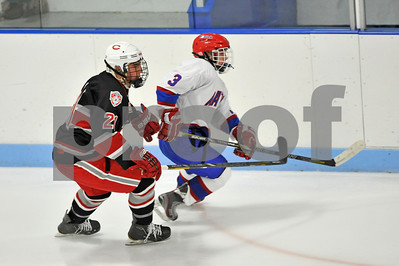 Natick boys' hockey v. Catholic Memorial