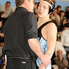 2/13/2009  130 lbs.  Mahwah wrestling coach, Dave Heitman talking with his son Dave Heitman who won a 4-3 decision over Nick Kromka of Parsippany.<br /> PHOTO: KELLY BIRDSEYE