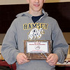 2-20-2010...District 5 Most Valuable Wrestler, Jeff Rottingen of Ramsey<br /> PHOTO: KELLY BIRDSEYE