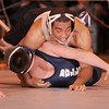 12/30/2009...145 lbs...Fort Lee's Johansi Rivera (top) won a 14-5 decision over Mike Paskas of Rutherford to capture the Bergen County Coaches Association George Jockish Holiday Tourmanent at 145 pounds.<br /> PHOTO: KELLY BIRDSEYE