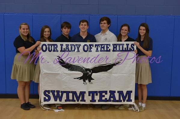 OLH Swim Team 2014