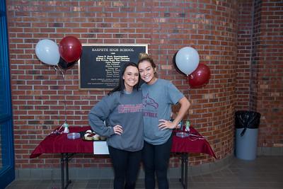 Hannah Cox / Kailynn Beshears Cumberland Signing