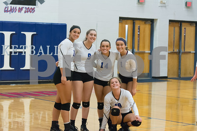 Lady Indian Volleyball Varsity Vs White House Heritage