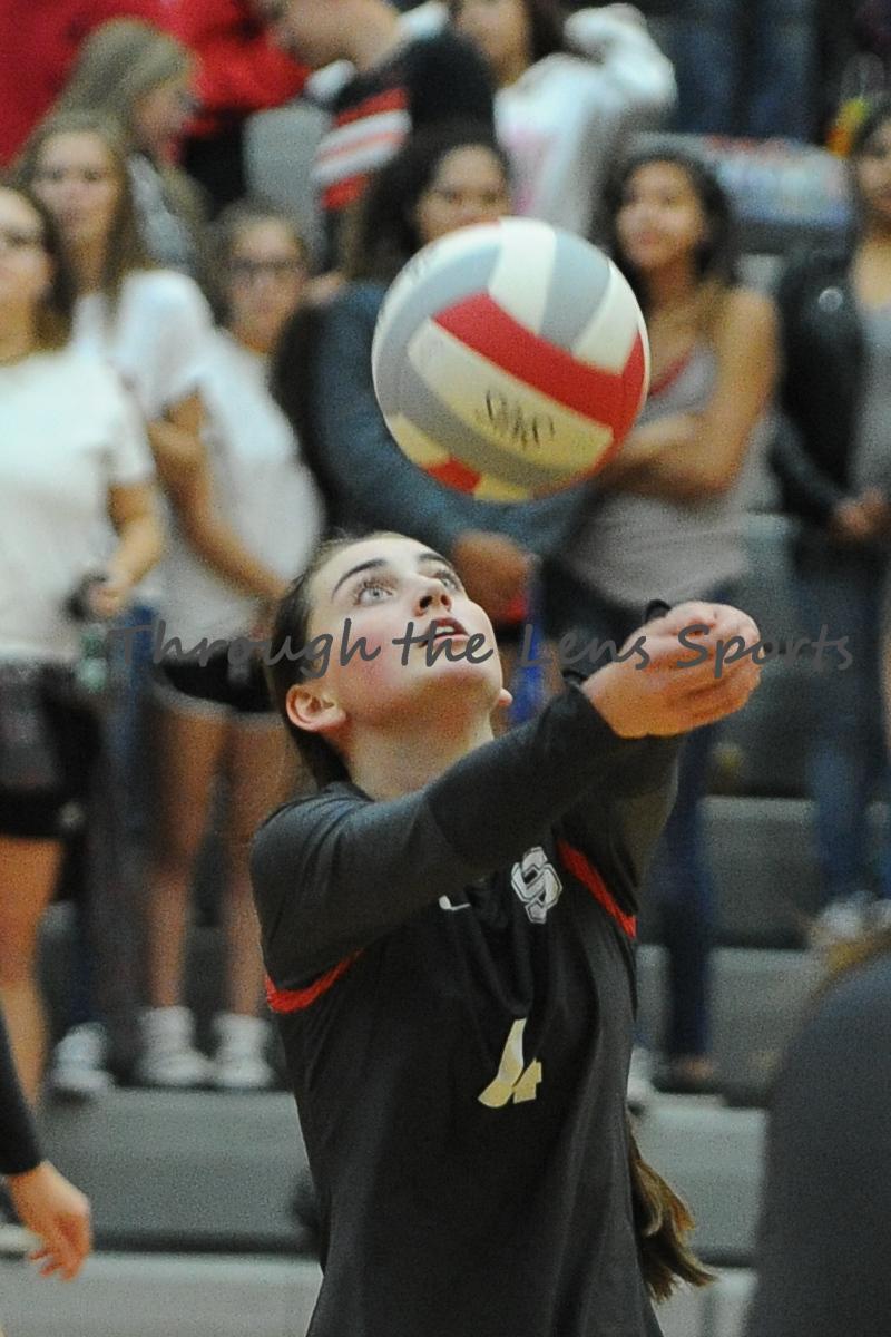 Lebanon vs. South Albany HS Volleyball