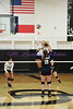 #21 Kammi Skeen fires one past the defense for kill Tuesday