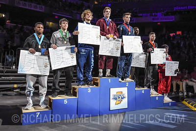 145 Podium: 1st Place - Matthew Lee of Evansville Mater Dei 2nd Place - Alex Mosconi of Indianapolis Cathedral 3rd Place - Aiden Warren of Perry Meridian 4th Place - Antwaun Graves of Warren Central 5th Place - Logan Macklin of Adams Central 6th Place - Jonathan Kervin of Floyd Central 7th Place - Terrell Leavell of Lawrence Central 8th Place - L.J. Burdon of Plainfield