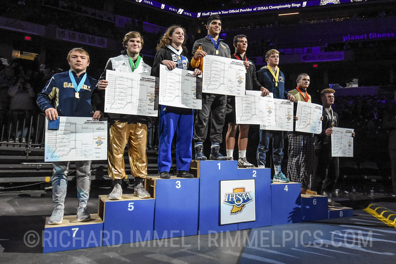 195 Podium: 1st Place - Silas Allred of Shenandoah 2nd Place - Nick Willham of Greenwood Community 3rd Place - KJ Roudebush of Tipton 4th Place - Will Nunn of Castle 5th Place - Jack Hurley of Penn 6th Place - Cale Gray of Norwell 7th Place - Stewart Mossholder of Oak Hill 8th Place - Charlie Agnew of Huntington North