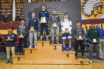 120 Awards: 1st - Trevor Mastrogiovanni (Blair Academy); 2nd - Lucas Byrd (La Salle); 3rd - Ryan Crookham (Notre Dame); 4th - Lachlan McNeil (Wyoming Seminary); 5th - Matt Ramos (Lockport Township); 6th - Nic Bouzakis (Lake Highland Prep School); 7th - Kysen Terukina (Kamehameha); 8th - Carson Sauriol (Poway)