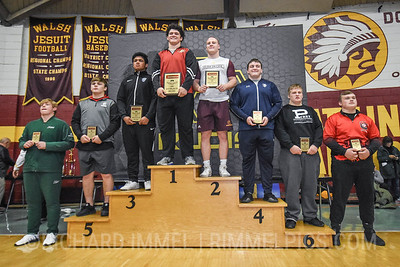 285 Awards: 1st - Cohlton Schultz (Ponderosa); 2nd - Jonathan Birchmeier (Broad Run); 3rd - Nicholas Villarreal (Gilroy); 4th - Louden Haga (Parkersburg South); 5th - Johnny Shafer (Graham); 6th - Max Millin (Perry); 7th - Andrew Johnson (Poway); 8th - Caden Hill (Crestview)