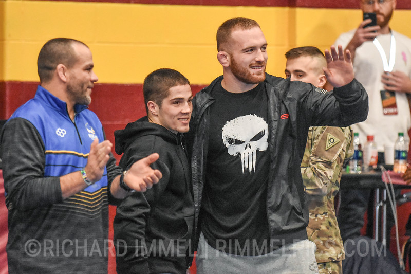 Opening Ceremony: Nathan Tomasello, Kyle Snyder