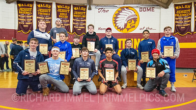 Tournament Champions: Marc-Anthony McGowan of Blair Academy; Gary Steen of Reynolds; Jordan Titus of Center Moriches; Nic Bouzakis of Wyoming Seminary; Drew Munch of Wyoming Seminary; Frankie Tal Shahar of American Heritage School; Lachlan McNeil of Wyoming Seminary; Dalton Harkins of Malvern Prep; Paddy Gallagher of St. Edward; Tyler Stoltzfus of St Josephs Catholic Academy; Rylan Rogers of Blair Academy; Seth Shumate of Dublin Coffman; Braxton Amos of Parkersburg South; Cole Deery of Malvern Prep