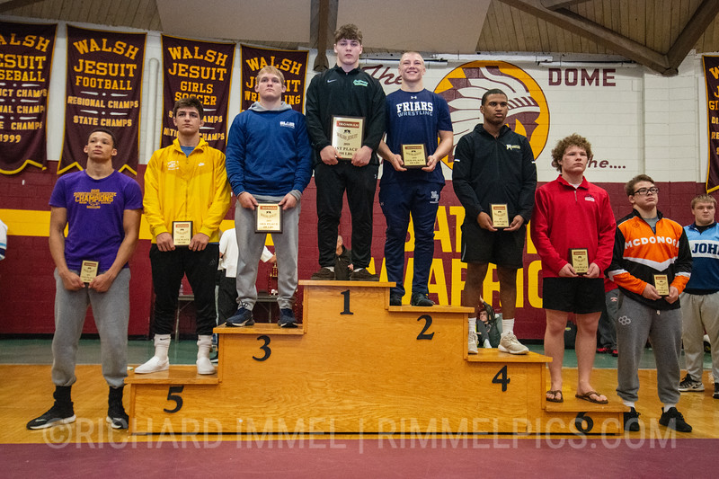 195: 1st Place - Seth Shumate of Dublin Coffman; 2nd Place - Nicholas Feldman of Malvern Prep; 3rd Place - Peyton Craft of Blair Academy; 4th Place - Emmanuel Skillings of Broken Arrow; 5th Place - Ben Vanadia of Brecksville; 6th Place - Sam Fisher of Fauquier; 7th Place - Jordan Greer of Avon; 8th Place - Jack Wimmer of McDonogh School