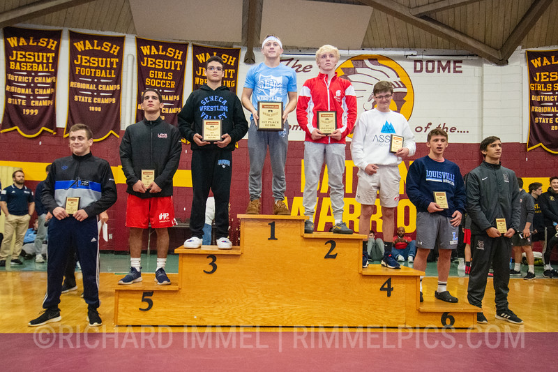 132: 1st Place - Drew Munch of Wyoming Seminary; 2nd Place - Ethen Miller of Park Hill; 3rd Place - Alejandro Herrera-Rondon of Seneca Valley; 4th Place - Jimmy Carmany of Brecksville; 5th Place - Chris Rivera of Lake Highland Prep; 6th Place - Davin Rhoads of Louisville; 7th Place - Evan Buchanan of Atlee; 8th Place - Noah Mis of Mt. Carmel