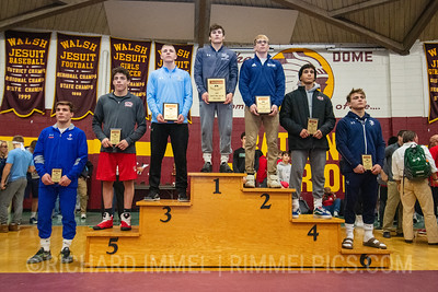 152: 1st Place - Dalton Harkins of Malvern Prep; 2nd Place - Travis Mastrogiovanni of Blair Academy; 3rd Place - Peyton Hall of Oak Glen; 4th Place - Noah Castillo of Lake Highland Prep; 5th Place - Enrique Munguia of Elyria HS; 6th Place - Brayden Roberts of Parkersburg South; 7th Place - Caleb Dowling of St Josephs Catholic Academy; 8th Place - Cole Handlovic of Bethlehem Catholic