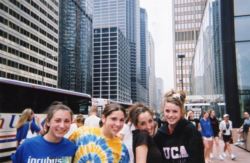 Lisa, Elyse, Jena & Amber in the Windy City