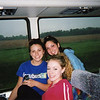Lisa, Casey & Elyse on the way home back to PA