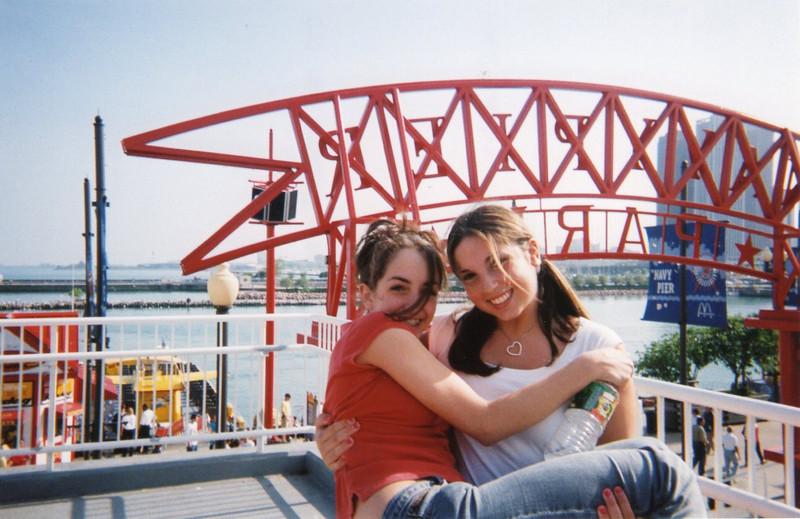 Jena & Elyse on Navy Pier
