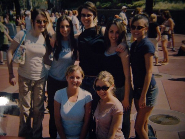 Rear from left: Amber Staska, Lisa DiCroce,  Danielle DiZebba, Jena Ferrigno, Jackie Cahill <br /> <br /> Front from left: Lindsey Burke and Casey
