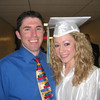 Casey & Mr. John Guildea. High school graduation.