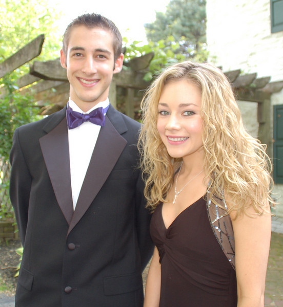 Casey was in college, but attended the Cappies Awards ceremony in 2007 in support of the STW (Springfield Theatre Workshop) students from the high school. She is pictured here with Matt.