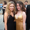 Casey and Amber outside the theater before the Cappies.