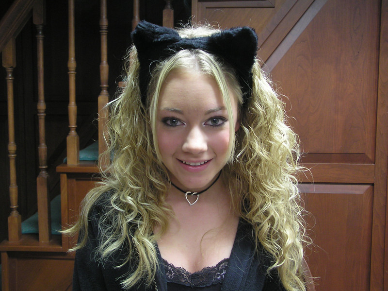 04' Halloween. Casey liked to go out for trick or treat all through high school!