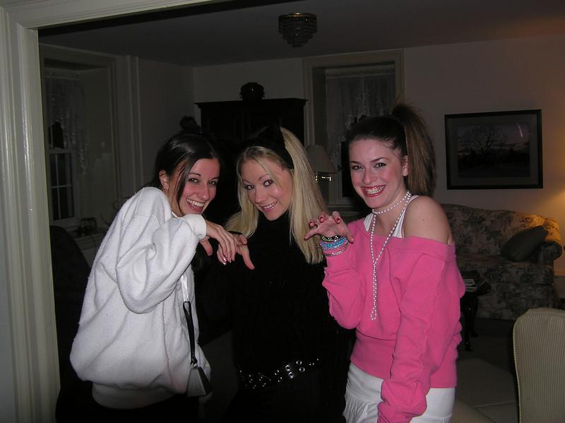 Halloween 05' with Rachel and Amber.