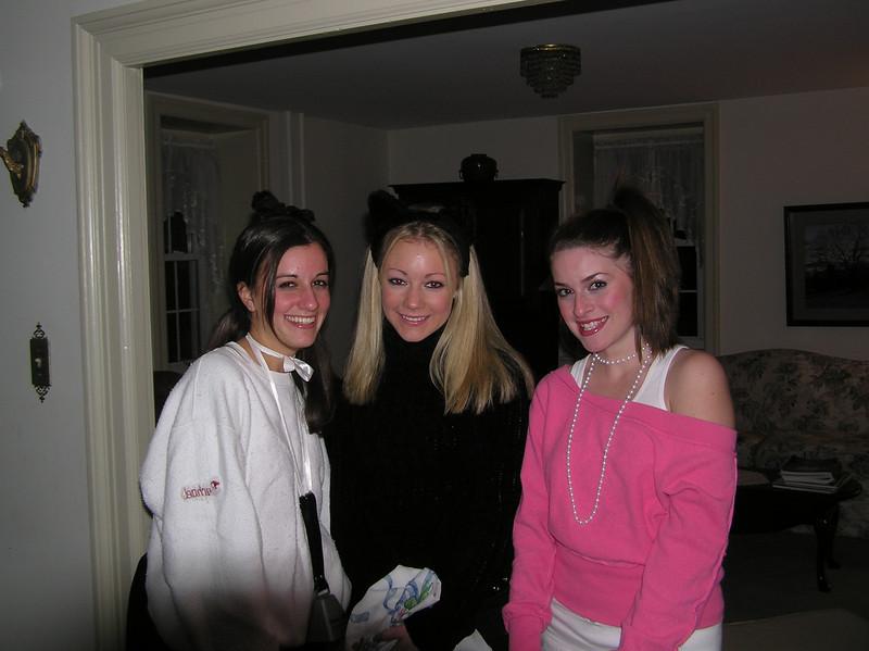 Rachel, Casey & Amber,one Halloween during high school. 05?