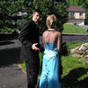 Mom had to get a shot of the back view of Casey's dress.