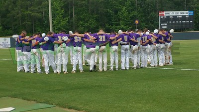 4-28-17 GHSA Baseball Playoffs - East Coweta vs. Etowah