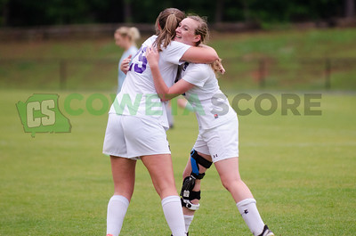5-5-17 GISA Girls Soccer Playoffs - Trinity vs. RTA