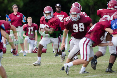 8-4-17 Northgate High football practice