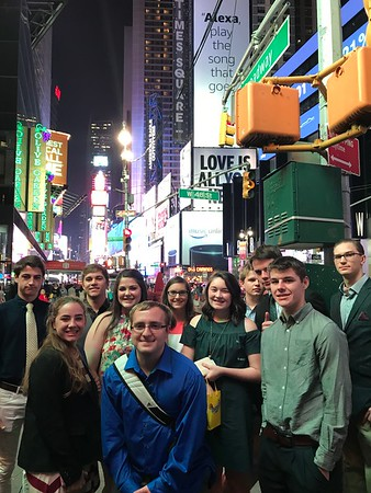 2017 11th Grade New York Trip