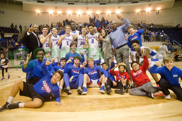 2-23 GISA State Boys Finals - Heritage vs Holy Spirit