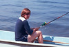 Eric fishing in New Hampshire, summer 1979