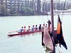 Crew team on the Seine, returning