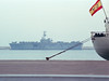 The navy port, a helicopter carrier
