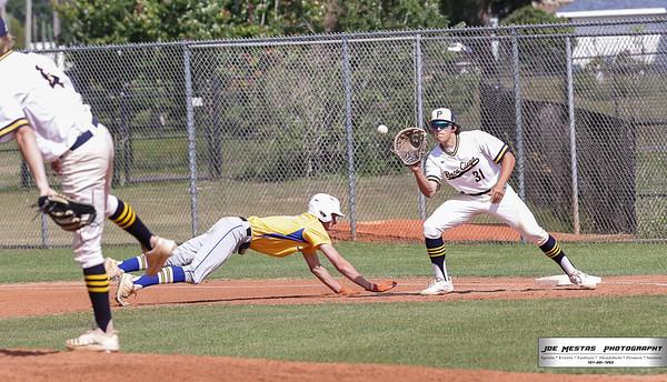 Boca Ciega HS vs Largo HS Baseball